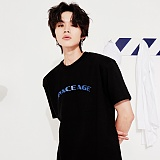 [스페이스 에이지] SPACE AGE - ARCH LOGO T-SHIRTS (BLK) 반팔티 티셔츠