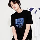[스페이스 에이지] SPACE AGE - HALF CORE T-SHIRTS (BLK) 반팔티 티셔츠