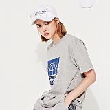 [스페이스 에이지] SPACE AGE - HALF CORE T-SHIRTS (GRAY) 반팔티 티셔츠