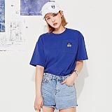 [스페이스 에이지] SPACE AGE - POCKET T-SHIRTS (BLUE) 반팔티 티셔츠