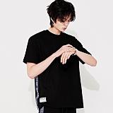 [스페이스 에이지] SPACE AGE - SIDE TAPE POCKET T-SHIRTS (BLK) 반팔티 티셔츠