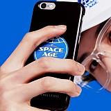 [스페이스 에이지] SPACE AGE - CORE LOGO CASE (BLK) 핸드폰케이스 휴대폰케이스