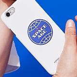 [스페이스 에이지] SPACE AGE - CORE LOGO CASE (WHT) 핸드폰케이스 휴대폰케이스