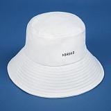 [에이비로드]Signature Bucket Hat (white) 버킷햇 벙거지