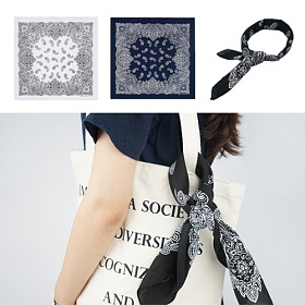 [에이비로드]AB Paisley Bandana (3 colors) 반다나