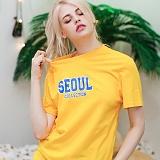 뉴해빗 - seoul collection - 7NMH-68 - 나염반팔