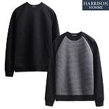 [해리슨] 자가드 엠보 맨투맨 CS1204 크루넥 스��셔츠