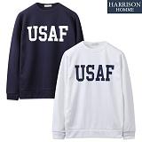 [해리슨] USAF 공군 MTM NC1139 맨투맨 크루넥 스��셔츠