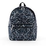 [버빌리안]BUBILIAN -Painting backpack 4 color [Black]