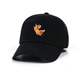 STIGMA - FOX OXFORD BASEBALL CAP BLACK 야구모자 볼캡
