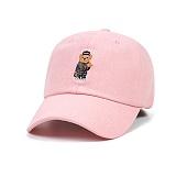 STIGMA - COMPTON BEAR OXFORD BASEBALL CAP PINK 야구모자 볼캡