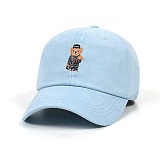 STIGMA - COMPTON BEAR OXFORD BASEBALL CAP BLUE 야구모자 볼캡