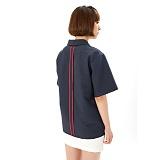 [창신사]CHANGSINSA 시어서커 라인셔츠 네이비 반팔셔츠 반팔남방