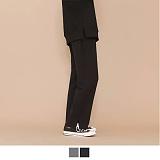 [10/11일 예약배송] 에이들 - (유니섹스) 와이드 밴딩 슬랙스