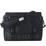 [버빌리안]BUBILIAN 로고 메신저백 (black) 가방