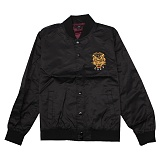 [오베이] OBEY SAVAGE SATIN JACKET (BLACK) [121800289-BLK] 자켓