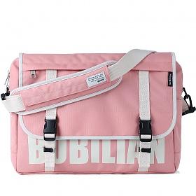 [버빌리안]BUBILIAN 로고 메신저백 (Pink) 가방