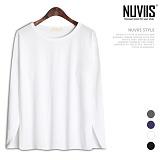 뉴비스 - 20수 라운드 긴팔 티셔츠 (MD074TS)