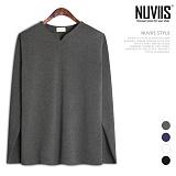 뉴비스 - 브이트임 긴팔 티셔츠 (MD073TS)