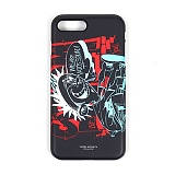 STIGMA - PHONE CASE CARTOON BLACK iPHONE 7/7+ 아이폰 핸드폰케이스