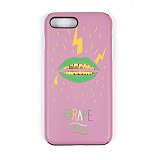 STIGMA - PHONE CASE GRAPE GRILLZ PINK iPHONE 7/7+ 아이폰 핸드폰케이스