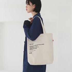 [벗딥]BUTDEEP - MIL ECO BAG-IVORY