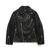 라퍼지스토어 - (Ver. 겨울) Buffing Leather Rider Jacket 라이더자켓 가죽 레더