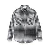 라퍼지스토어 - (Unisex) Check Shirt Black Tartan 체크셔츠