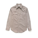 라퍼지스토어 - (Unisex) Check Shirt Brown Hound Tooth 체크셔츠