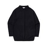 라퍼지스토어 - Basic Collar Knit_Navy 카라니트
