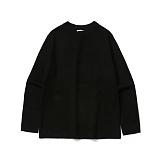 라퍼지스토어 - Basic Knit Tee_Black 니트