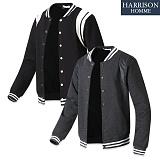 [해리슨] 어깨 이중 레자 야구 MJ1102 자켓