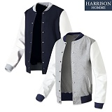 [해리슨] 레자 소매 야구 MJ1101 자켓