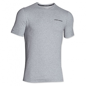 [UNDER ARMOUR]언더아머 로고 반팔 티셔츠 그레이 1277085 025 남녀공용 UnderArmour 정품 국내배송