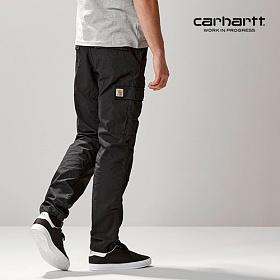 [칼하트WIP] CARHARTT WIP - Aviation Pant (Black rinsed) 에비에이션 워크팬츠 카고팬츠 팬츠