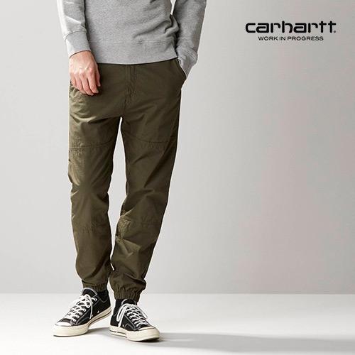 [칼하트WIP] CARHARTT WIP - Marshall Jogger (Cypress rinsed) 마샬 조거팬츠 팬츠