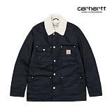 [칼하트WIP] CARHARTT WIP - Phoenix Coat (Dark Navy rigid) 양털 피닉스 코트 자켓