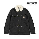 [칼하트WIP] CARHARTT WIP - Phoenix Coat (Black rigid) 양털 피닉스 코트 자켓