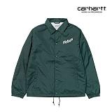 [칼하트WIP] CARHARTT WIP - Carhartts Coach Jacket (Parsley / White) 코치자켓 자켓