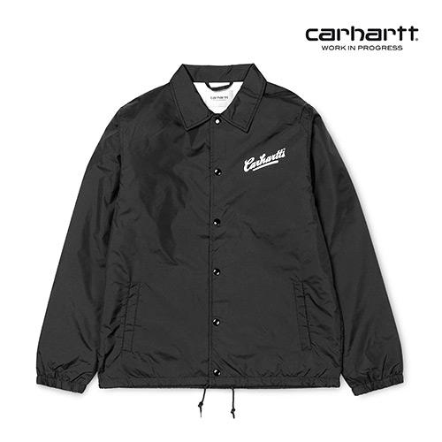 [칼하트WIP] CARHARTT WIP - Carhartts Coach Jacket (Black / White) 코치자켓 자켓