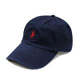 [폴로]POLO랄프로렌 볼캡 야구모자 네이비(레드) 002 Polo Ralphlauren 정품 국내배송