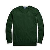 [폴로]POLO랄프로렌 맨즈 말자수 V넥 니트 스웨터 012 그린 남녀공용 Polo Ralphlauren 정품 국내배송