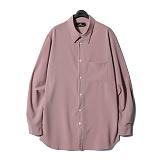 디씬 - 레이온셔츠- 핑크 긴팔셔츠 남방