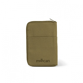 [밀리컨]MILLICAN - 트레블 월렛 스몰 (MOSS) 여행용 여권 지갑