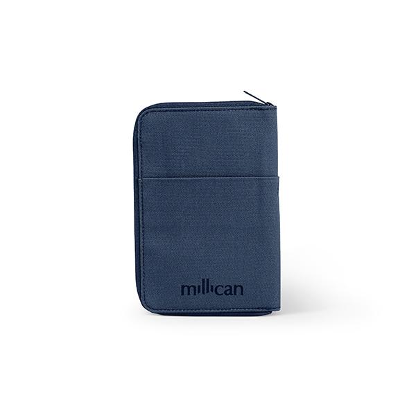 [밀리컨]MILLICAN - 트레블 월렛 스몰 (SLATE) 여행용 여권 지갑