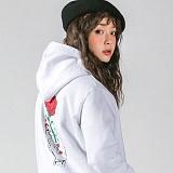 슈퍼레이티브 - 동경소녀 기모 후드티 - 7SMH21 - 나염후드 - 2컬러