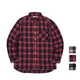 [언리미트]Unlimit - Check Shirts (U17CTSH52) 체크셔츠 체크남방 긴팔셔츠 긴팔남방
