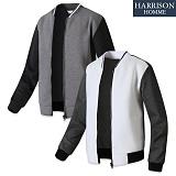 [해리슨] 요꼬 배색 블루종 RT1029 자켓