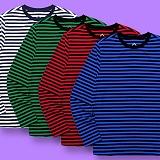 [슈퍼레이티브] superlative [S] 스트라이프 롱슬리브 - 긴팔 티셔츠 - 7컬러