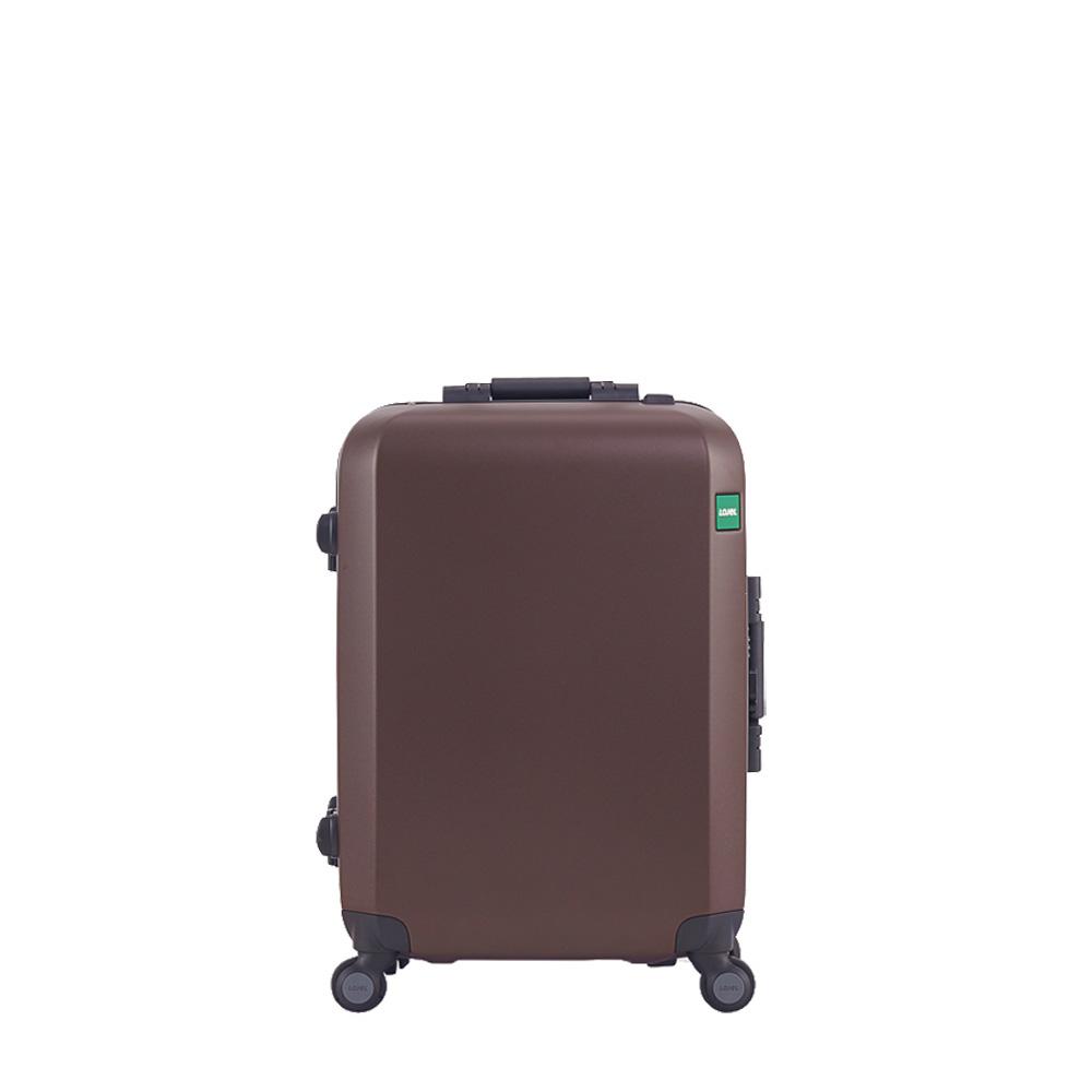 [로젤] 란도 TSA 기내용 22형/57cm PC 프레임 캐리어(CF-1612) - 초콜렛